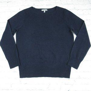 Neiman Marcus Cashmere Collection Blue Sweater